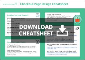 Checkout Page Optimization Cheatsheet