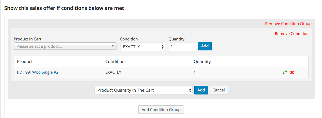 Product Quantity In Cart up-sells cross-sells