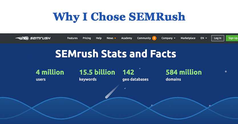 Why I Chose SEMRush For Online Store SEO Research and Intelligence