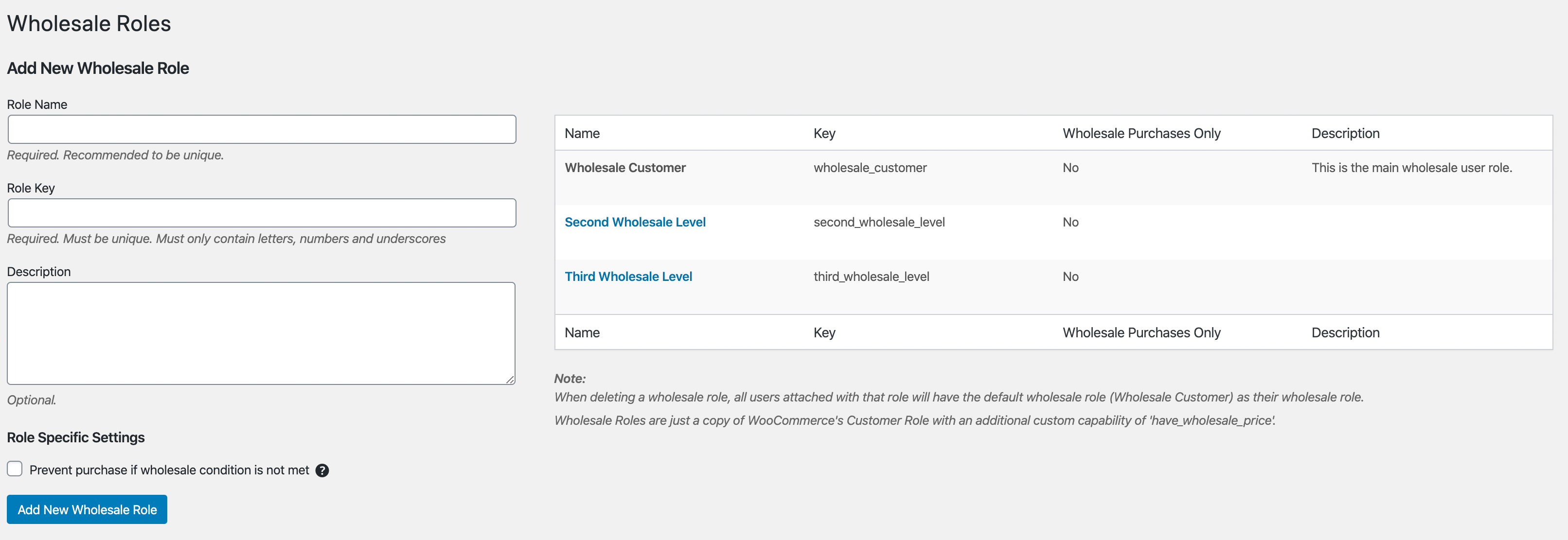 Adding Wholesale Roles In WooCommerce With Wholesale Suite