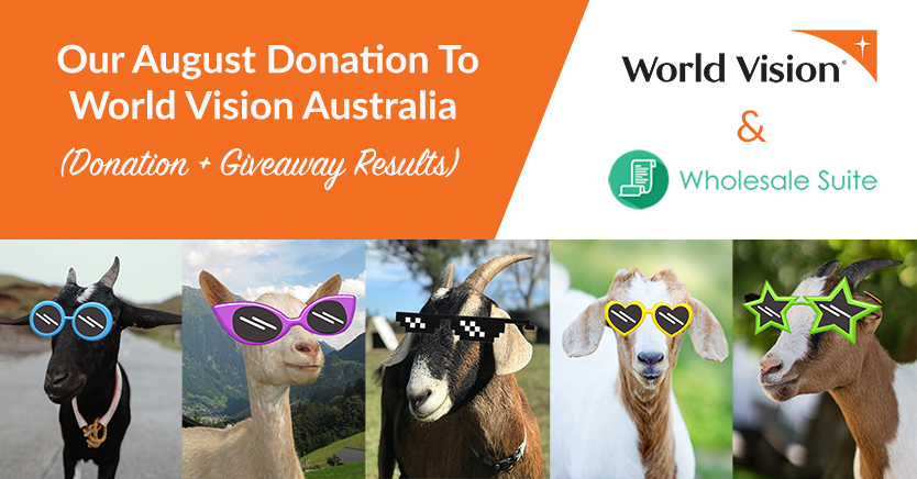 Our August Donation To World Vision Australia (Donation + Giveaway Results)