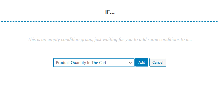 Configuring your cart restrictions.