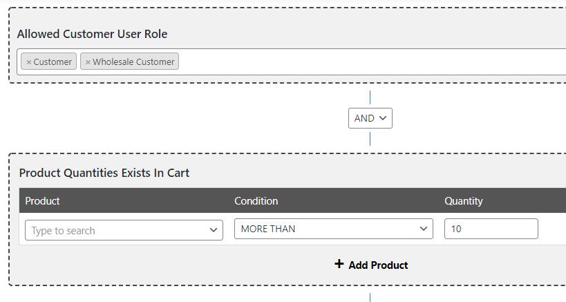 Create a wholesale website