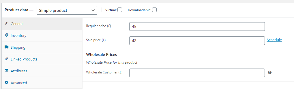 Adding wholesale prices to WooCommerce