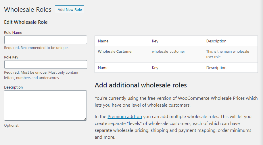 WooCommerce user accounts
