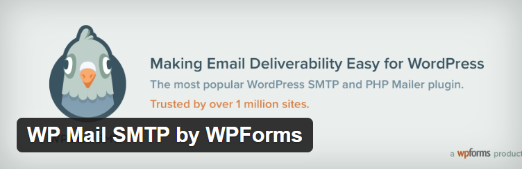 The WP Mail SMTP plugin