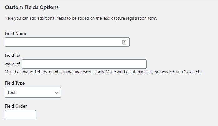 Adding a custom field to your wholesale user application form