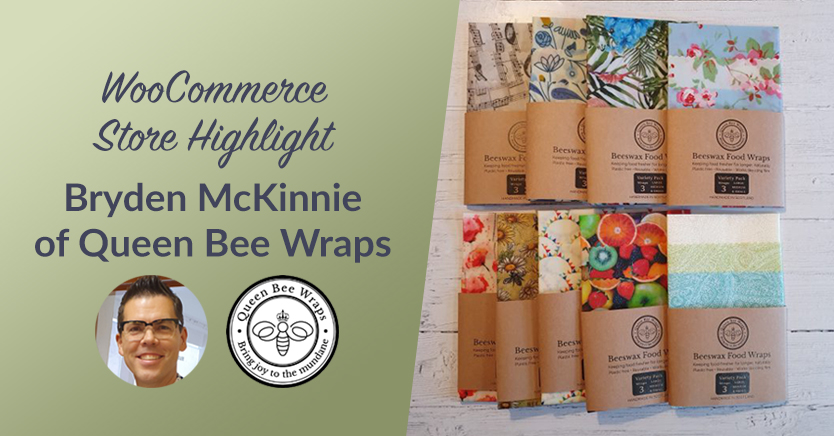 WooCommerce Store Highlight: Bryden McKinnie from Queen Bee Wraps