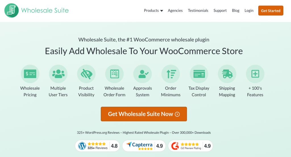The Wholesale Suite plugin you can use for WordPress B2B sales.