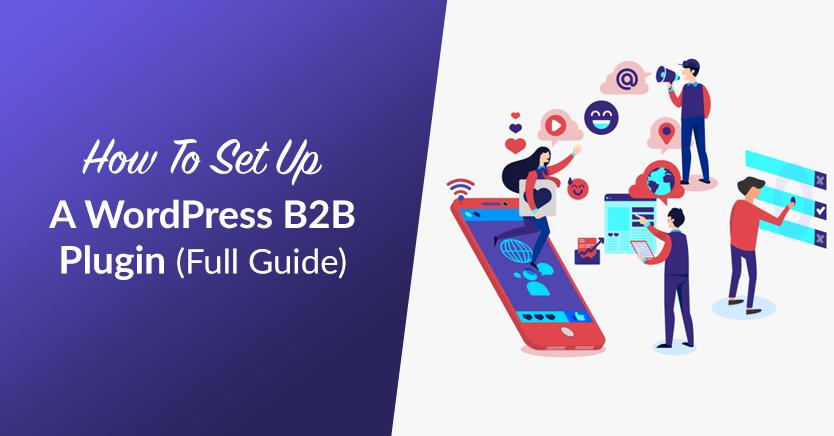 How To Set Up A WordPress B2B Plugin (Full Guide)
