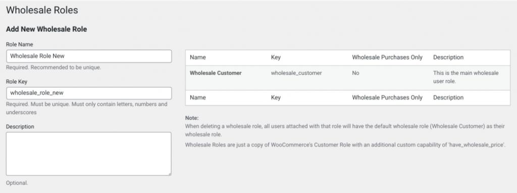 Adding a new customer role.